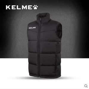 KELME卡尔美 运动男款秋冬季棉衣马甲足球训练无袖棉服背心坎肩
